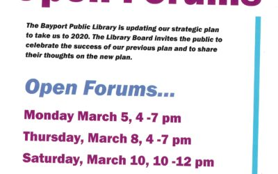 Strategic Plan Open Forum